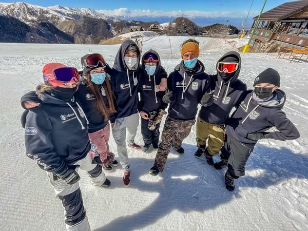 Il team trentino del settore snowbaord freestyle