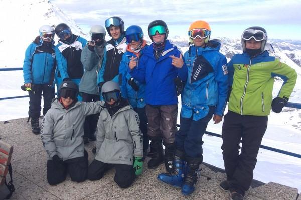 La squadra Snowboardcross stagione 2019/2020