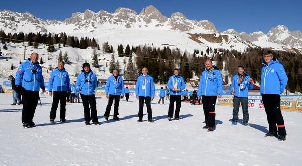 Il direttivo di Val di Fassa Ski World Cup 2021 (Pentaphoto)