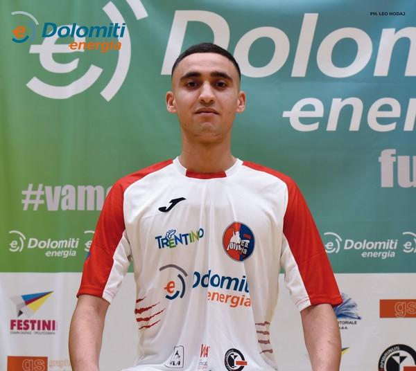 Di Hassan Moufakir il secondo gol della Dolomiti Energia