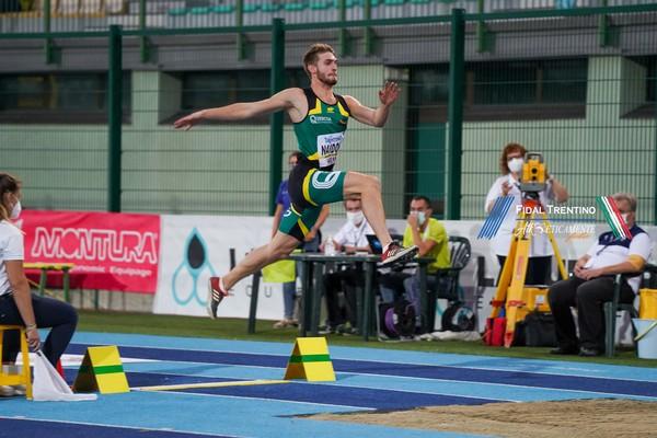Lorenzo Naidon, nuovo record nel lungo indoor (foto Atl-Eticamente)