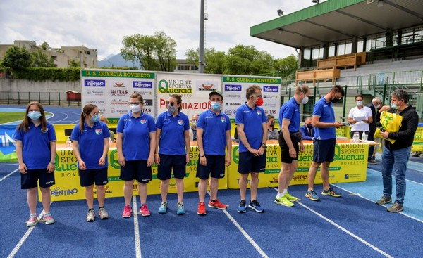Gli atleti della sezione FISDIR (foto M. Volcan)
