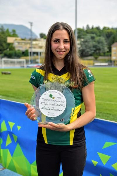 L'atleta dell'anno Marta Ronconi (foto M. Volcan)