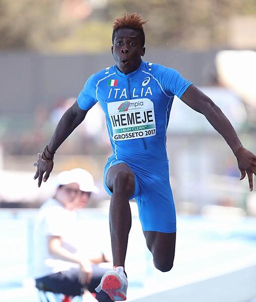 Emmanuel Ihemeje (foto Colombo/FIDAL)