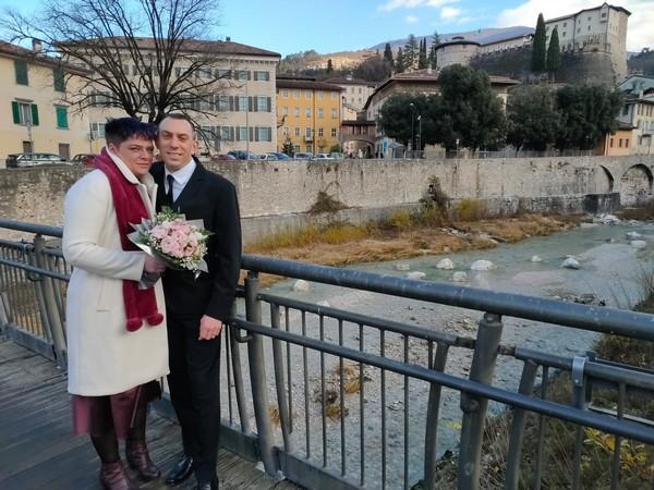 Barbara con Fabio