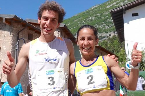 Cesare Maestri e Ana Nanu